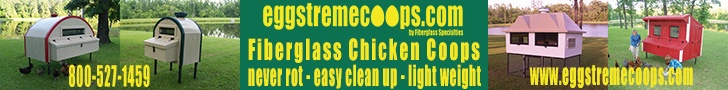 Eggstreme Coops Banner Ad